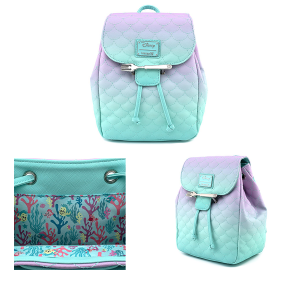 The Little Mermaid - Ombre Scales Mini Backpack