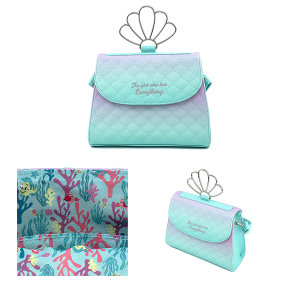 The Little Mermaid - Ombre Scales Shell Crossbody