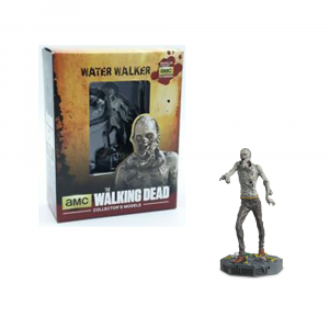 The Walking Dead AMC Eaglemoss Collection Water Walker Zombie Figure