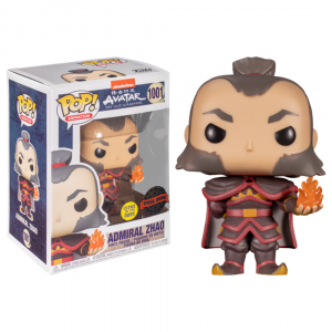 Avatar: The Last Airbender - Zhao with Fireball Glow US Exclusive Pop! Vinyl [RS]