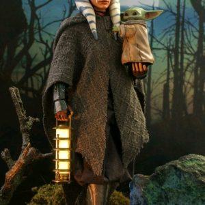 "Star Wars: The Mandalorian - Ahsoka Tano and Grogu 1:6 Scale 12"" Action Figure Set"