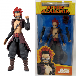"My Hero Academia - Eijiro Kirishima Season 3 Hero Costume 7"" Scale Action Figure"