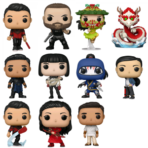 Shang-Chi and the Legend of the Ten Rings - The Legend Pop! Vinyl Bundle (Set of 11)