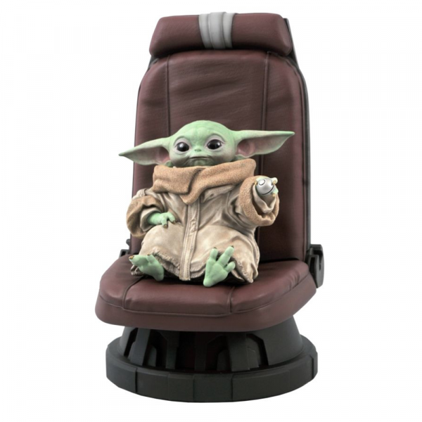 Star Wars: The Mandalorian - The Child in Chair 1:2 Scale Statue
