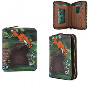 The Fox and the Hound - Copper & Todd Zip Purse