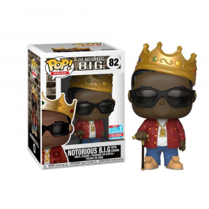 The Notorious B.I.G - Biggie Smalls With Crown NYCC 2018