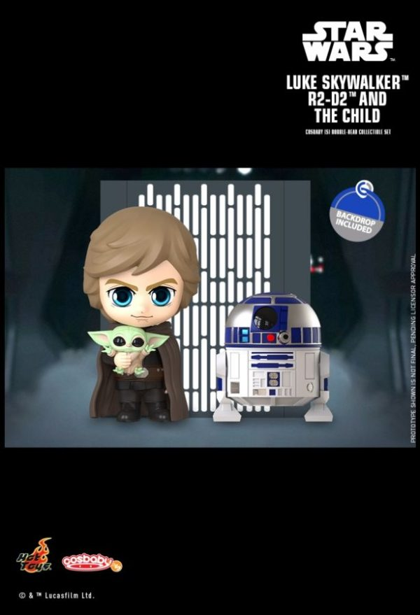 Star Wars: The Mandalorian - Luke, R2-D2 & The Child Cosbaby