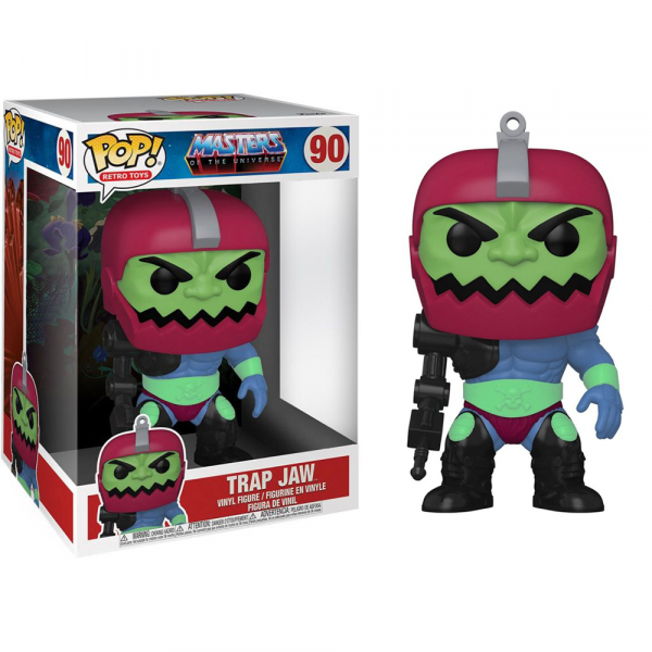 """Masters of the Universe - Trapjaw 10"""" Pop! Vinyl"""