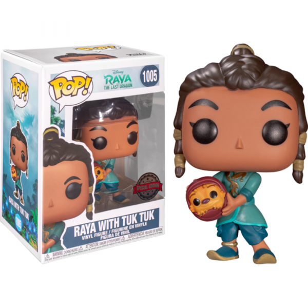 Raya and the Last Dragon - Young Raya with Baby Tuk Tuk Pop! Vinyl