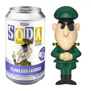 Rocky & Bullwinkle - Fearless Leader (with chase) Vinyl Soda