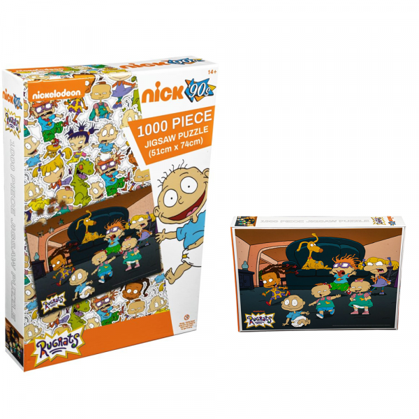 Rugrats - Lounge Room 1000 piece Jigsaw Puzzle