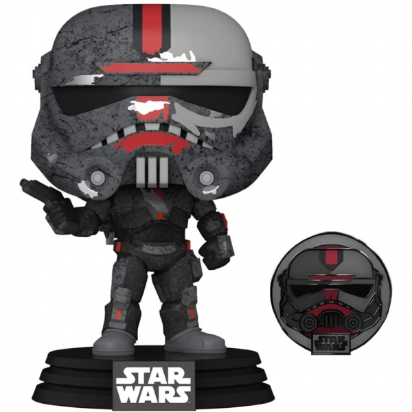 Star Wars: Across the Galaxy - Hunter Pop! Vinyl with Pin [RS