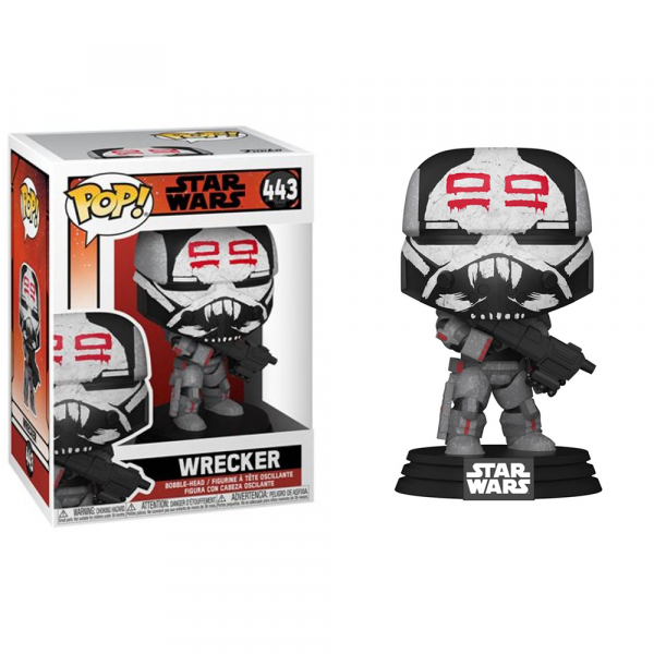 Star Wars: Bad Batch - Wrecker Pop! Vinyl