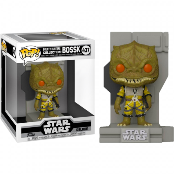 Star Wars - Bossk Pop! Deluxe Diorama [RS]