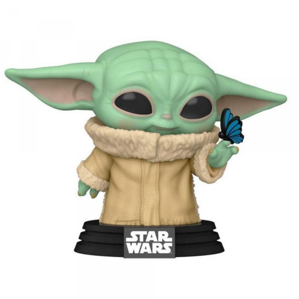 Star Wars: The Mandalorian - Grogu with Butterfly US Exclusive Pop! Vinyl [RS]