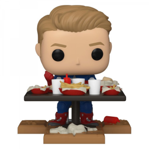 Avengers Movie - Captain America Shawarma US Exclusive Pop! Deluxe [RS]