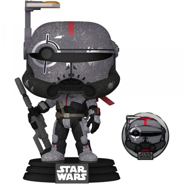 Star Wars: Across the Galaxy - Crosshair Pop! Vinyl with Pin [RS]