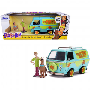 Scooby Doo - Mystery Machine with Figure 1:24 Scale Hollywood Ride