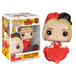 The Suicide Squad (2021) - Harley Quinn Curtsying Pop! Vinyl
