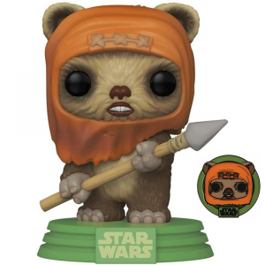 Star Wars: Across the Galaxy - Wicket Pop! Vinyl with Pin