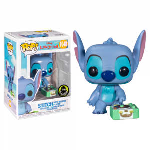 Stitch with Record Player Exclusive Pop! Vinyl