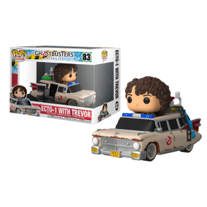 Ghostbusters: Afterlife - Trevor with Ecto-1 Pop! Rides Vinyl