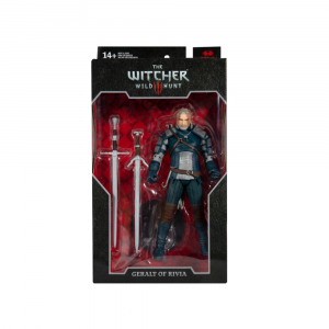"""The Witcher 3: Wild Hunt - Geralt of Rivia Viper Armour (Teal-Dye) 7"""" Scale Action Figure"""